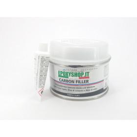 Carbon filler-stucco nero carbonio