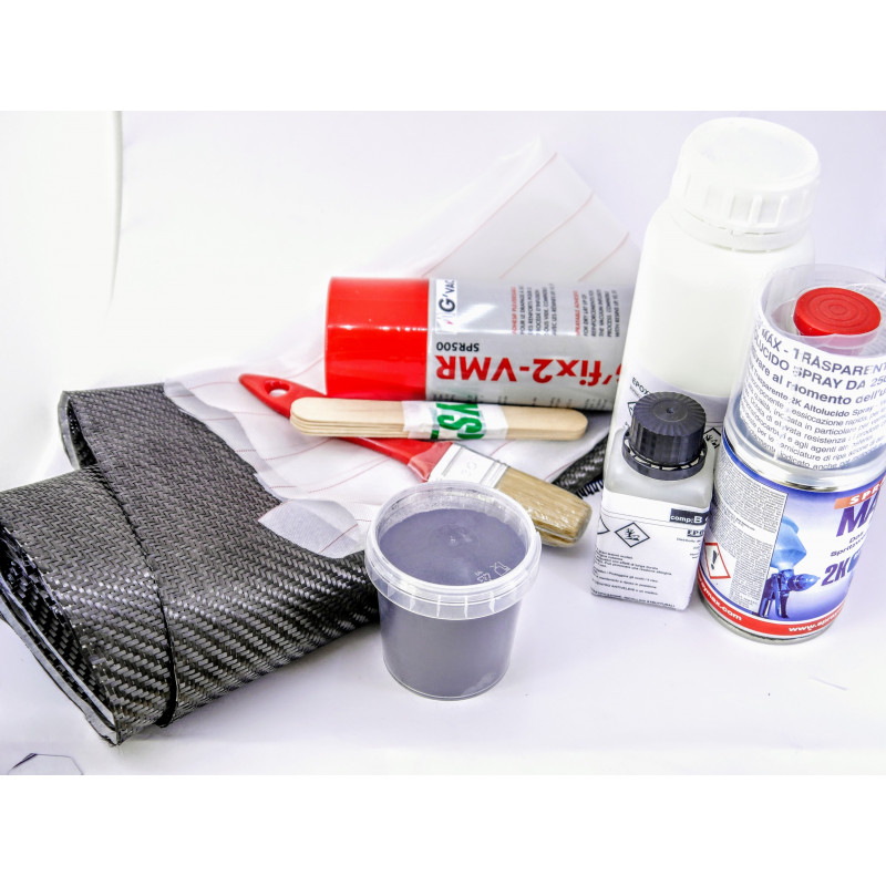 kit wrapping , laminazione carbonio manuale